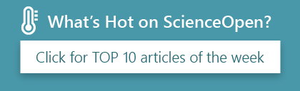 What's Hot on ScienceOpen? Click for top 10 articles of the week